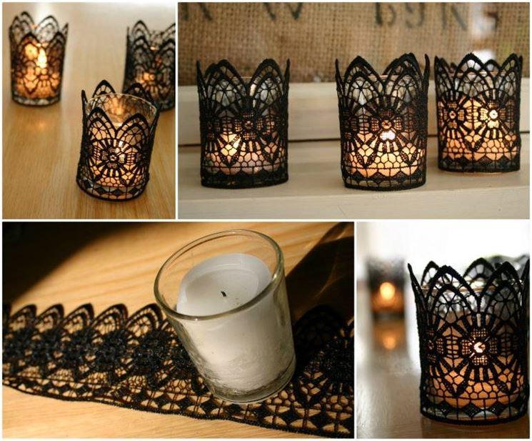 candele decorate fai da te