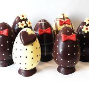 Realizzare le uova pasquali di cioccolato