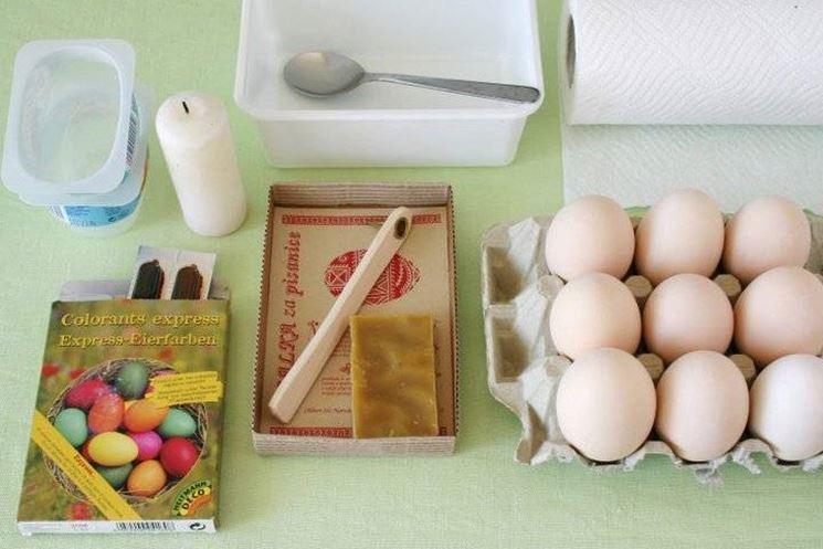 Realizzare le uova pasquali dipinte
