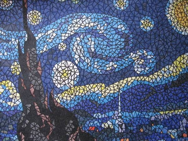 La tecnica del mosaico il bricolage la storia e la - Mosaico per esterno fai da te ...