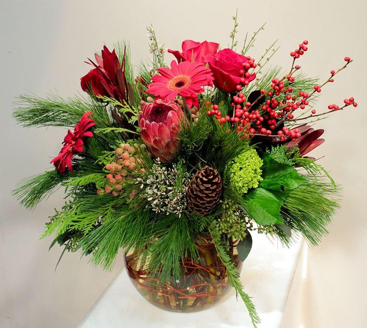 Esempio di composizione di fiori freschi. (Fonte: Media.flowercompany.ca)