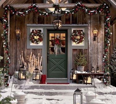 la leggenda delle ghirlande natalizie