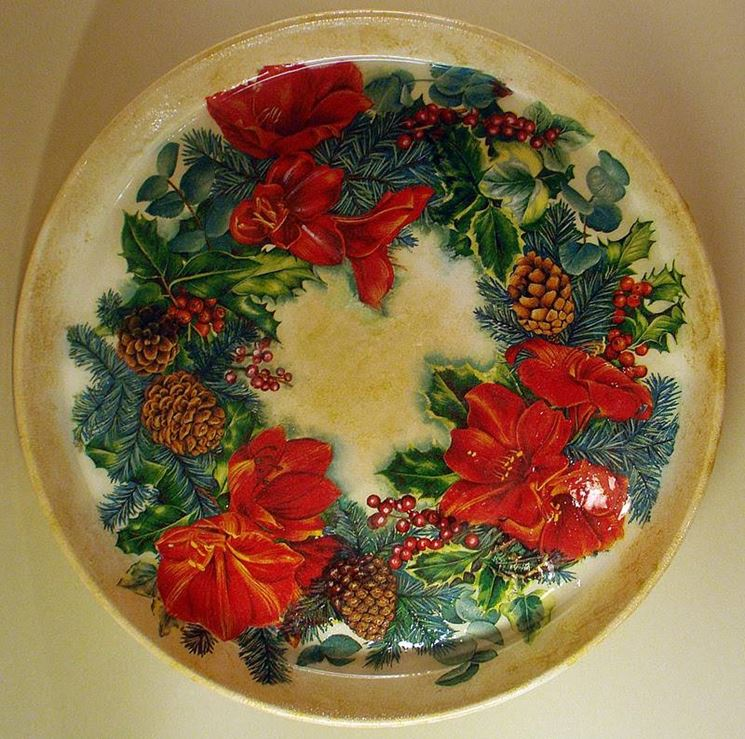 Decorazioni natalizie fai da te il decoupage crea le - Idee decorazioni natalizie fai da te ...