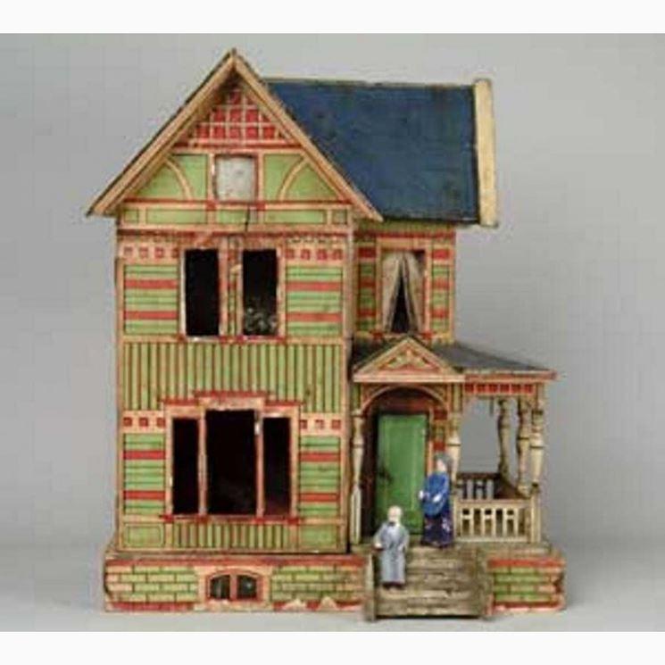 Fare casa di carta il decoupage come fare una casa con for Come fare una casa una casa