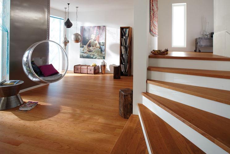 Splendide rifiniture in legno di ciliegio