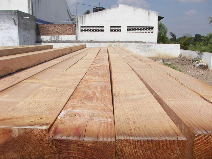 Tavola di legno d'abete bianco