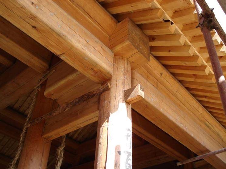 Dettaglio di assemblaggio strutturale