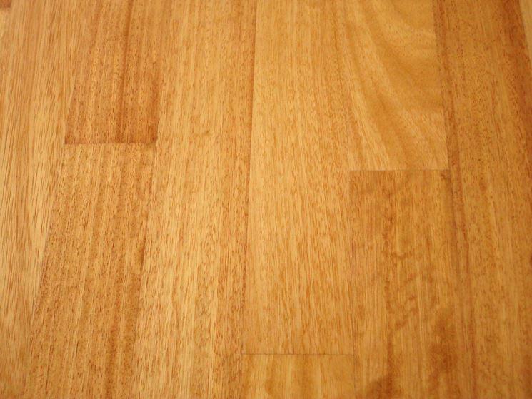 Parquet in legno d'iroko