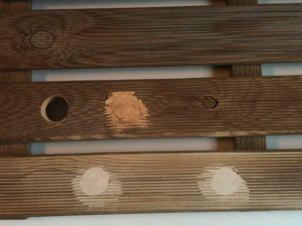 Come applicare lo stucco per legno lavorare il legno - Cera d api per legno esterno ...