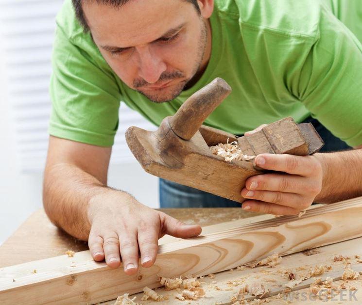 come levigare il legno