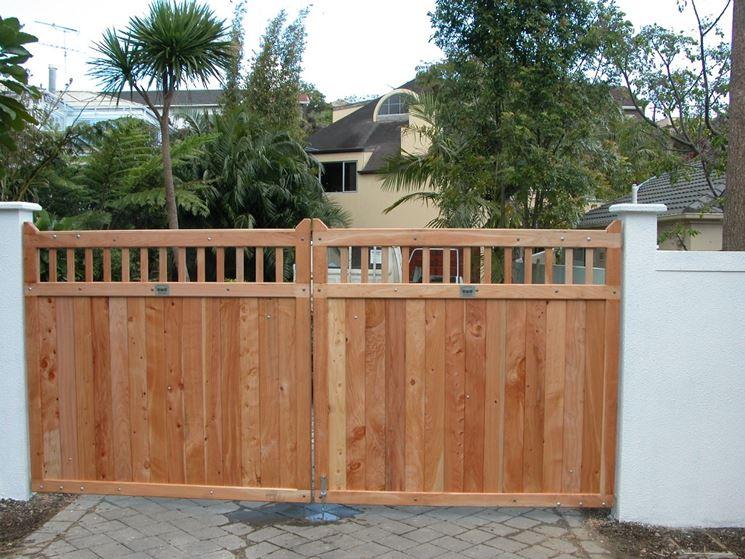 ... cancello in legno - Lavorare il Legno - Installare cancello in legno