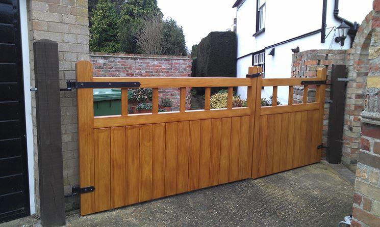 Installare un cancello in legno - Lavorare il Legno - Installare cancello in legno