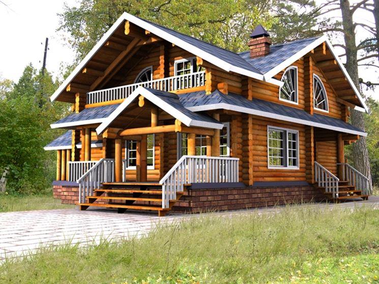 Una casa in legno