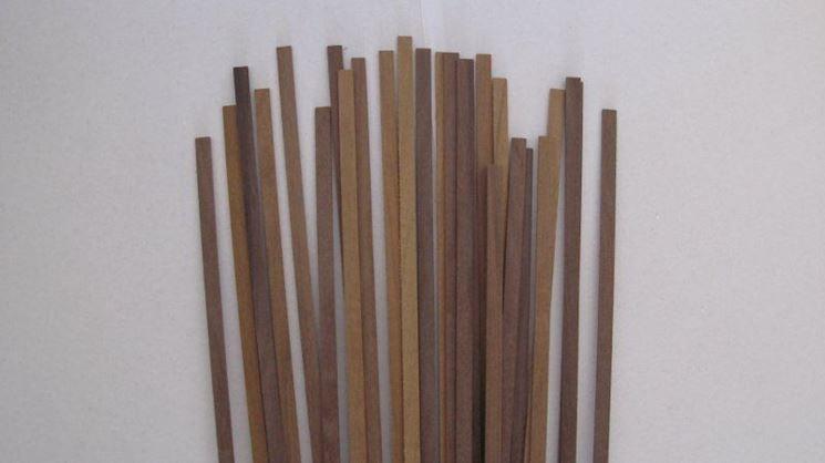 Listelli legno in noce