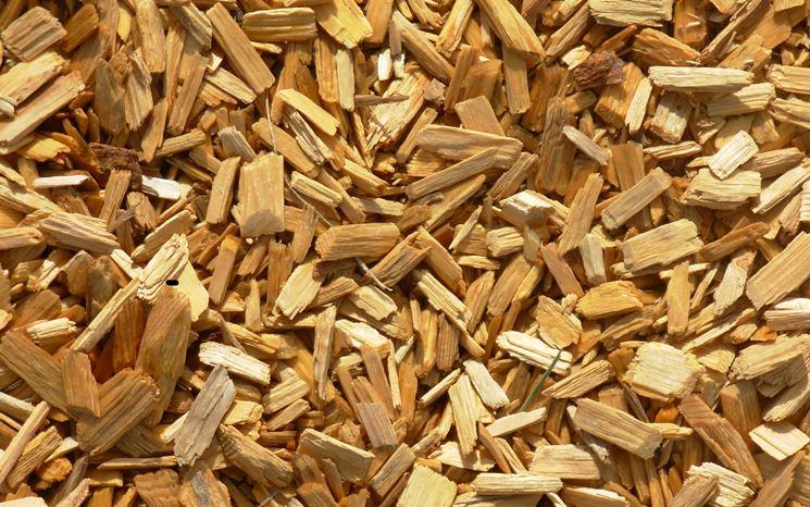 Chips per il riciclo del legno