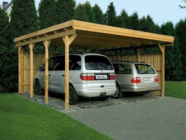 struttura per auto