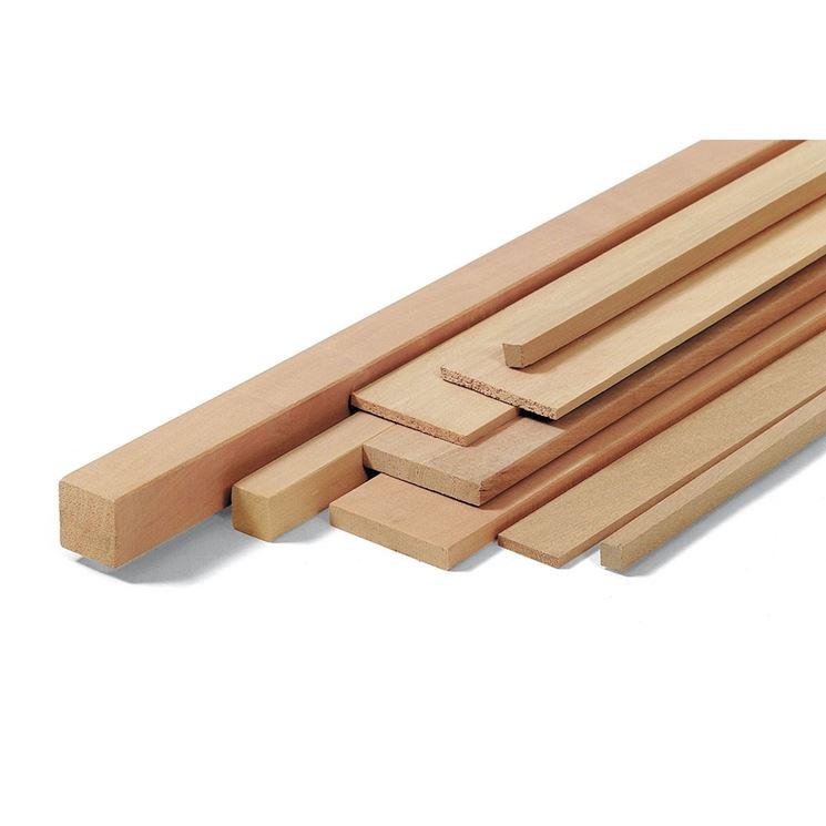 tipologie di listelli in legno: listelli in legno di faggio