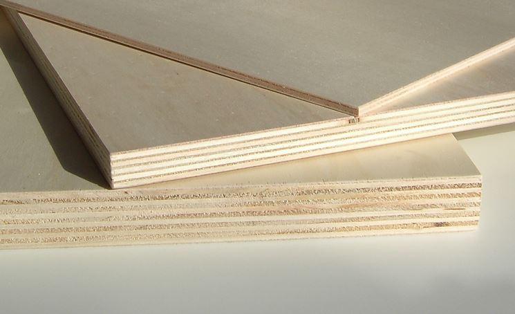 pannelli legno chiaro