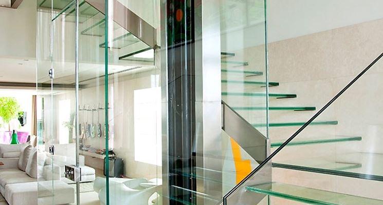 Scale e pareti in vetro di sicurezza