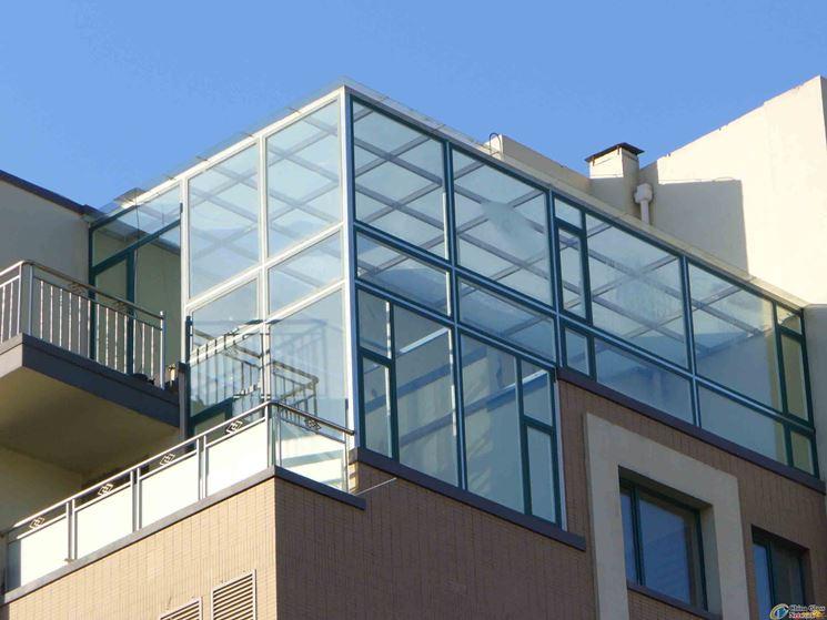 Finestre in vetro stratificato