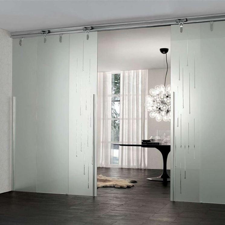 Porte in cristallo lavorare il vetro quanto costano le for Quanto costano le porte interne