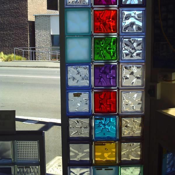 Utilizzo del vetro mattone - Lavorare il vetro - Il vetro ...