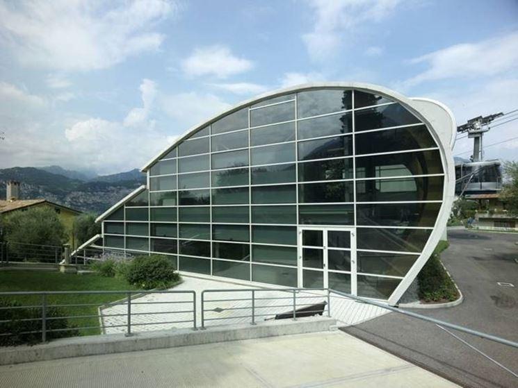 facciata con vetrata con pellicola antisolare di Sputtered
