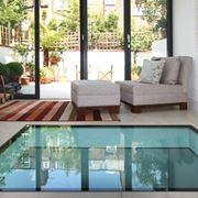 Pavimentazione in vetro calpestabile