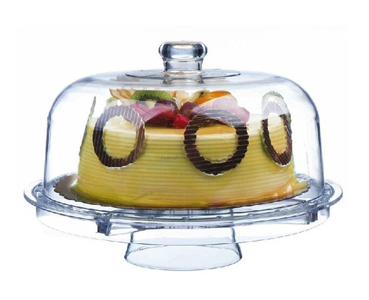 Alzata per torte con cupola salvafreschezza