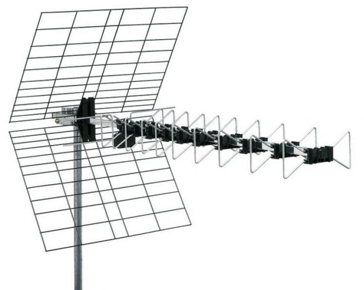 Tipica antenna televisiva