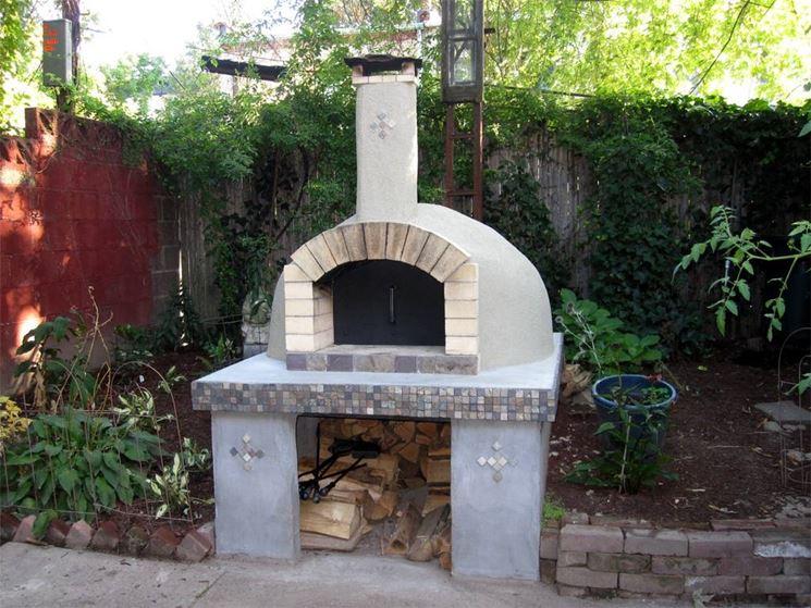 Tavella refrattaria h per forno a legna