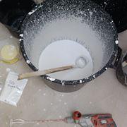 miscela di malta e cemento