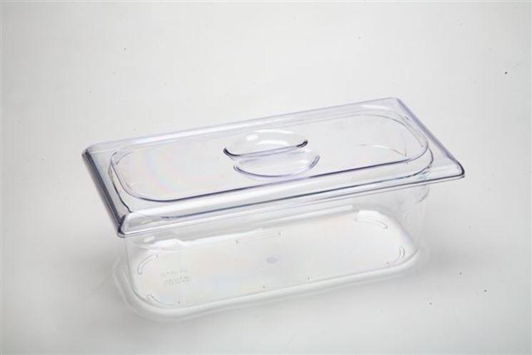 Esempio lavorato policarbonato trasparente