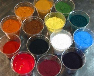 Colorazioni dei pigmenti