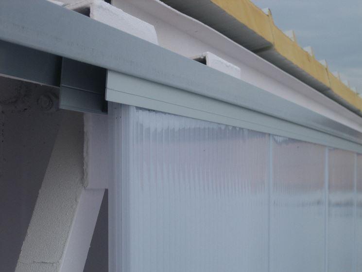 Esempio di serramenti realizzati in policarbonato