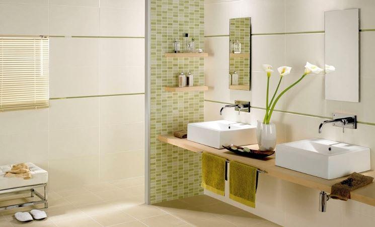 Quando utilizzare rivestimenti ceramici materiali per - Listelli decorativi per bagno ...
