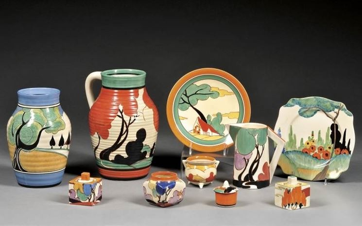 ceramiche colorate