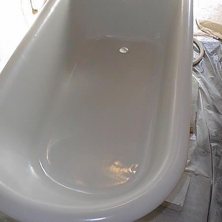 Come rivestire la vasca da bagno restaurare rivestire - Pulire la vasca da bagno ...