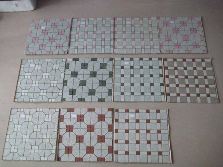 Filettare tecniche di fai da te pregi piastrelle a mosaico - Piastrelle tipo mosaico ...