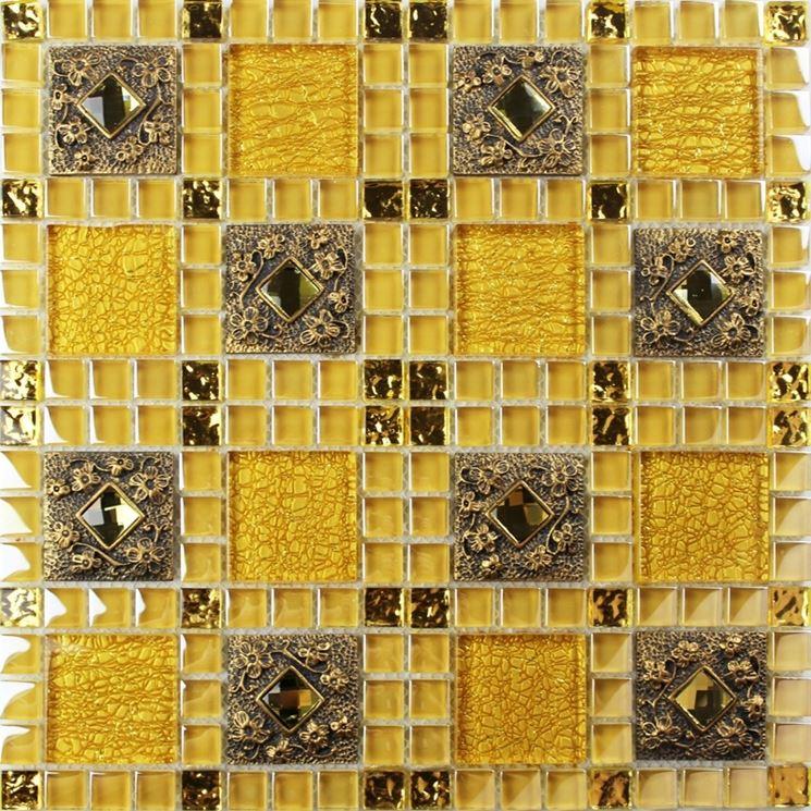 mosaico dorato