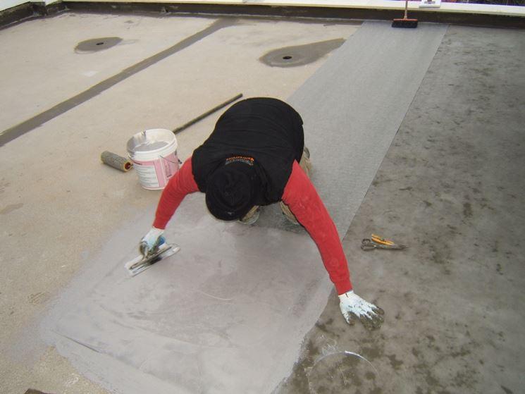 Impermeabilizzazione dei terrazzi