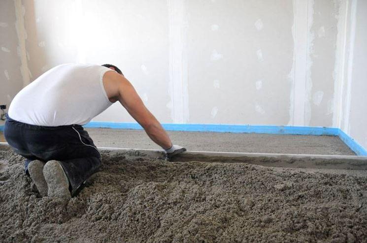 Massetto tecniche di fai da te come realizzare un massetto - Massetto sabbia cemento proporzioni ...
