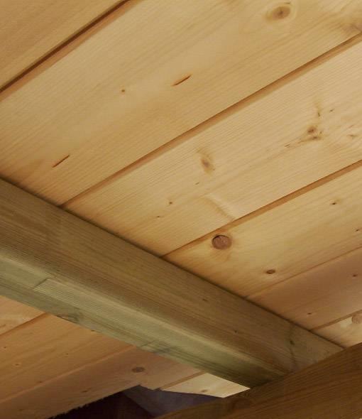 Montaggio perline in legno - Tecniche di fai da te - come avviene in montaggio perline in legno