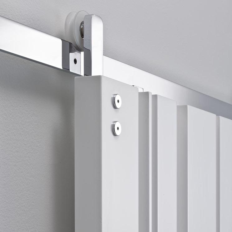 Porte scorrevoli da esterno finest acciaio cerniera for Porte scorrevoli esterno muro economiche
