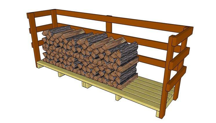 Realizzare una legnaia fai da te - Tecniche di fai da te ...