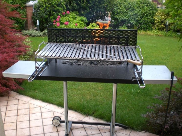 Il barbecue mobile
