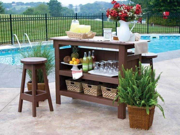 come scegliere i mobili da giardino arredamento per