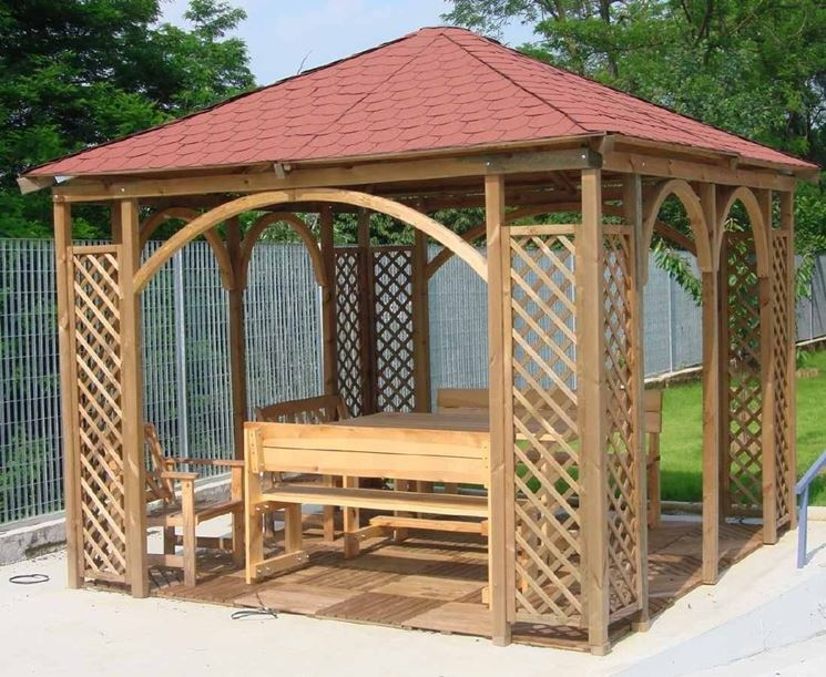 Gazebo Per Matrimonio In Giardino : Gazebo fai da te arredamento per giardino