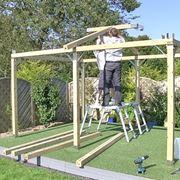 Gazebo fai da te arredamento per giardino gazebo fai for Progetto gazebo in legno pdf