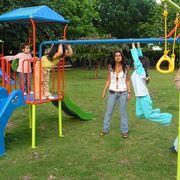 Giochi da giardino e bambini